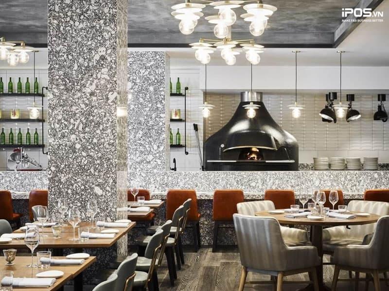 Thiết kế nhà hàng theo phong cách châu Âu