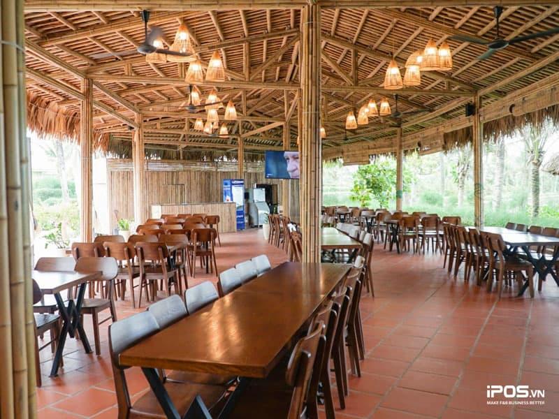 Thiết kế nhà hàng theo phong cách truyền thống Việt Nam