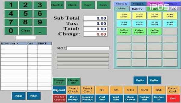 Phần mềm quản lý nhà hàng BPA POS