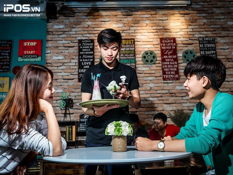 kế hoạch quy trình phục vụ quán cafe