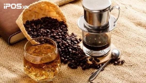Cafe pha pha phin lớn