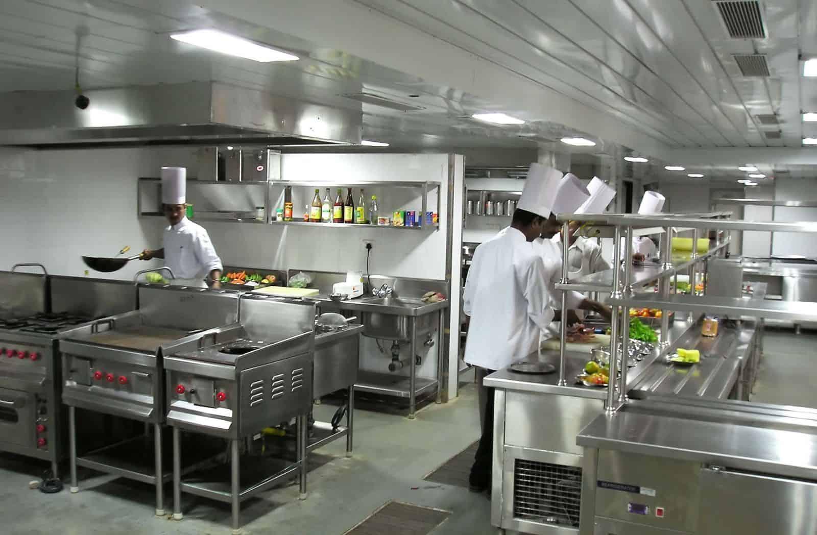 khu vực bếp