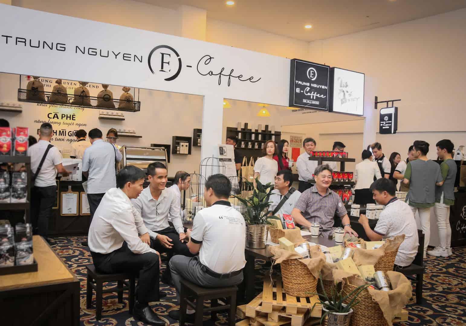 nhượng quyền cafe e coffee