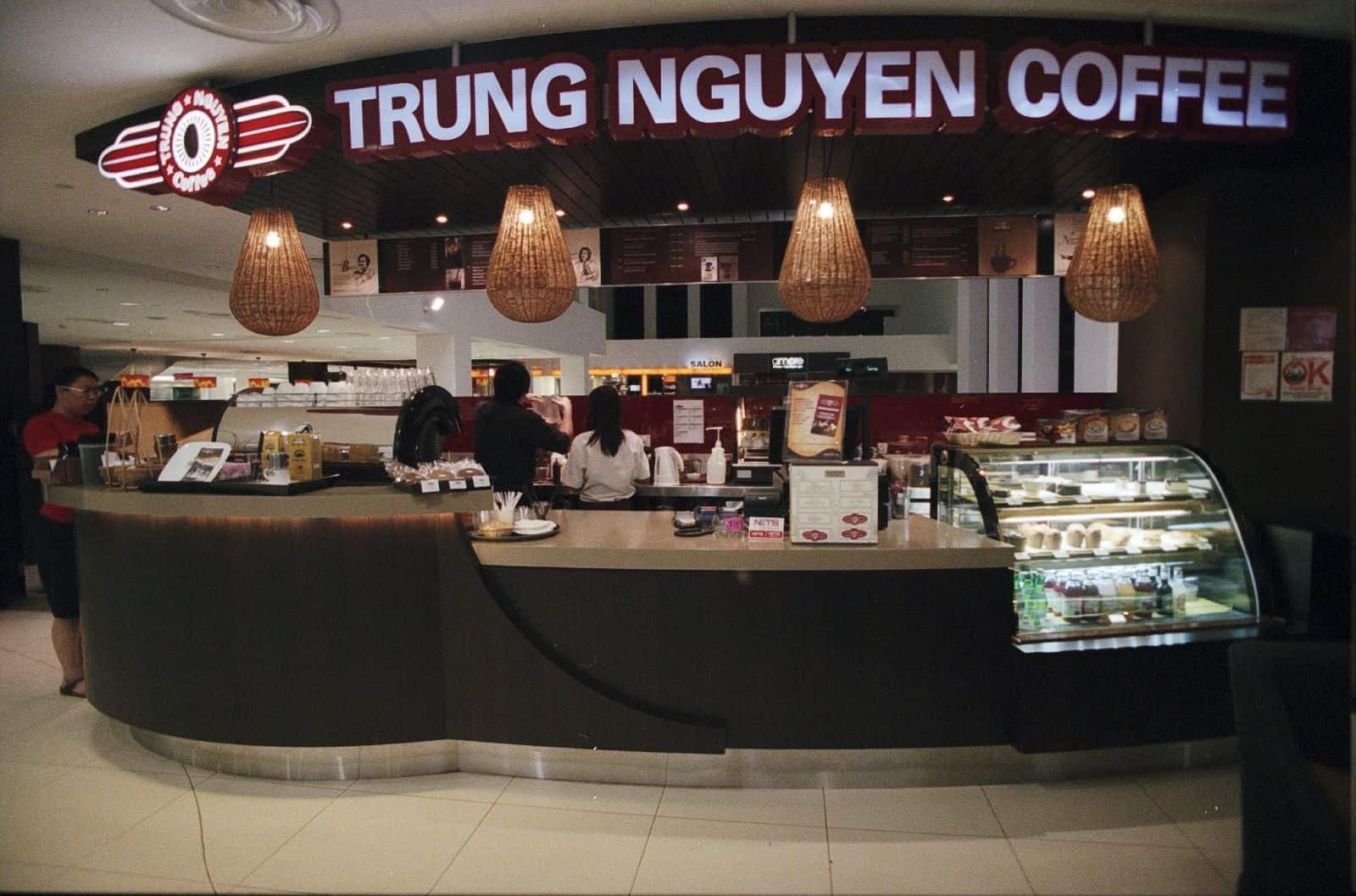 nhượng quyền cafe trung nguyên coffee