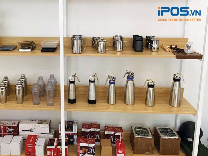 dụng cụ pha chế tại Phadin Coffee