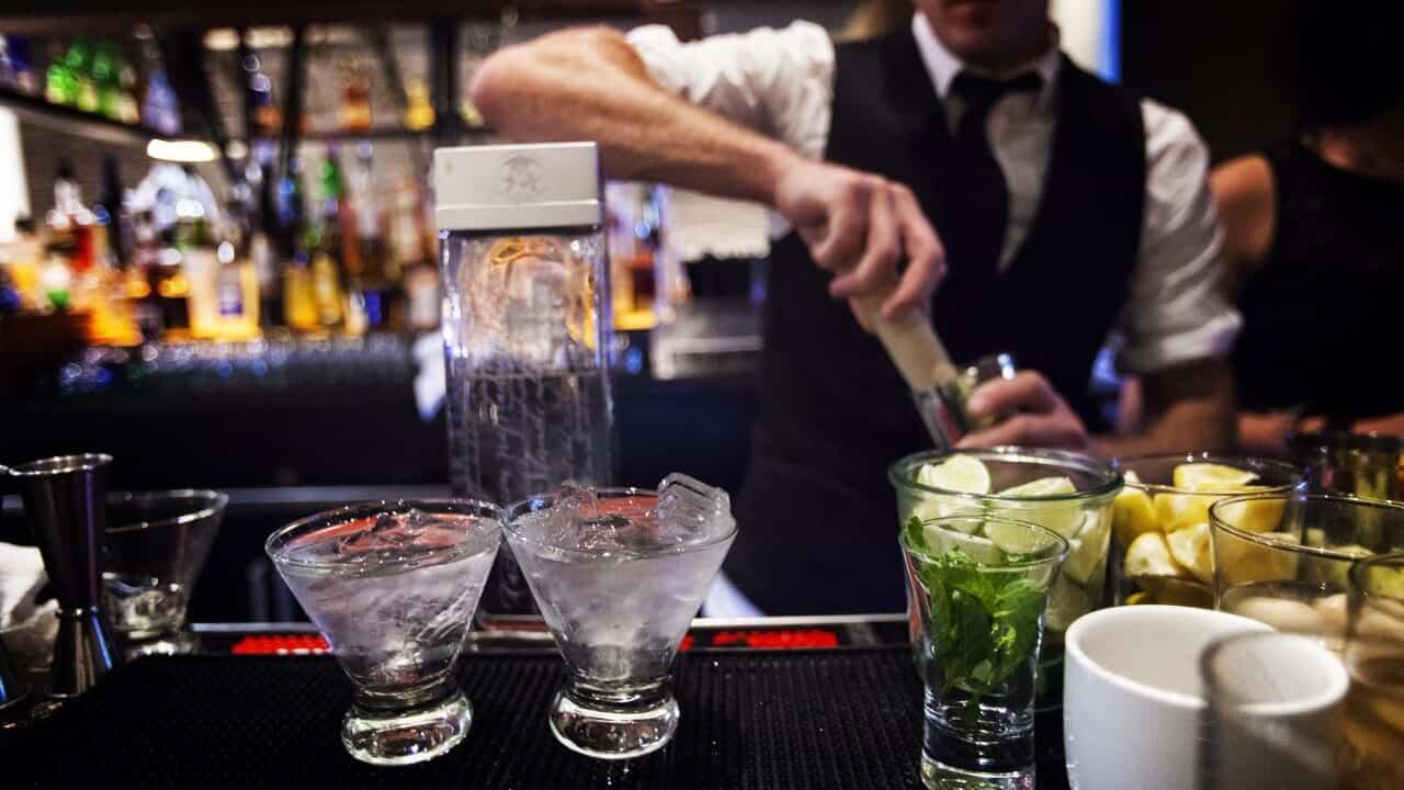 việt nam bartender