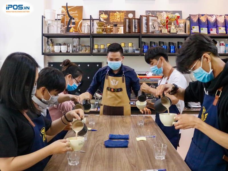 trung tâm đào tạo barista wao
