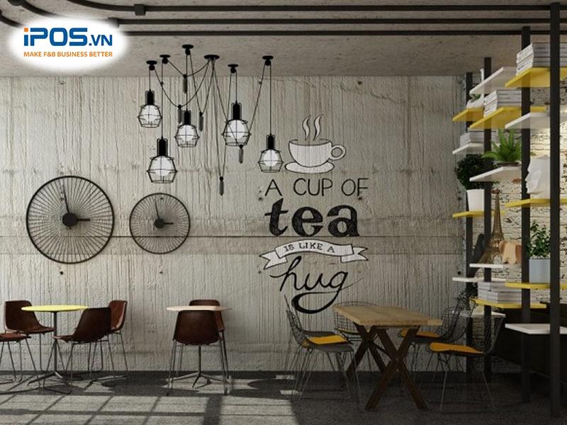 địa điểm mở quán trà sữa