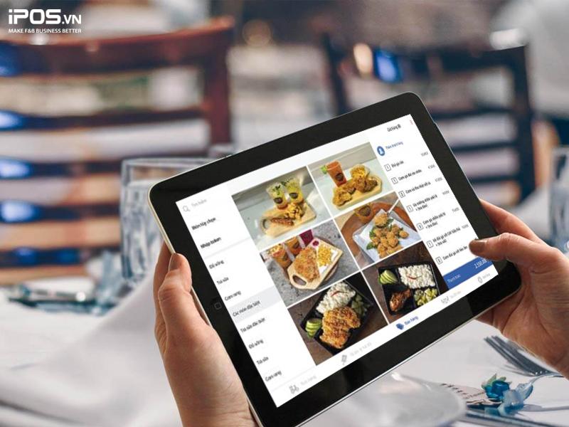order nhanh chóng với phần mềm quản lý nhà hàng