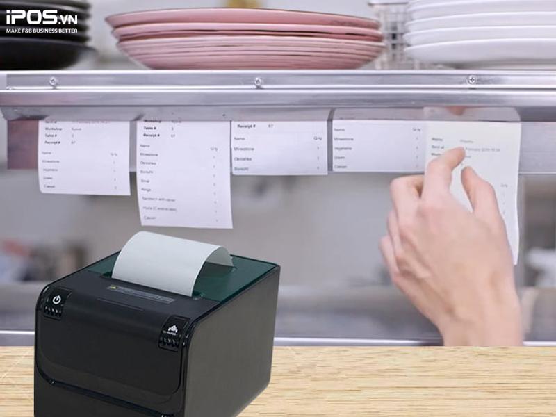 điều phối chế biến với phần mềm quản lý nhà hàng