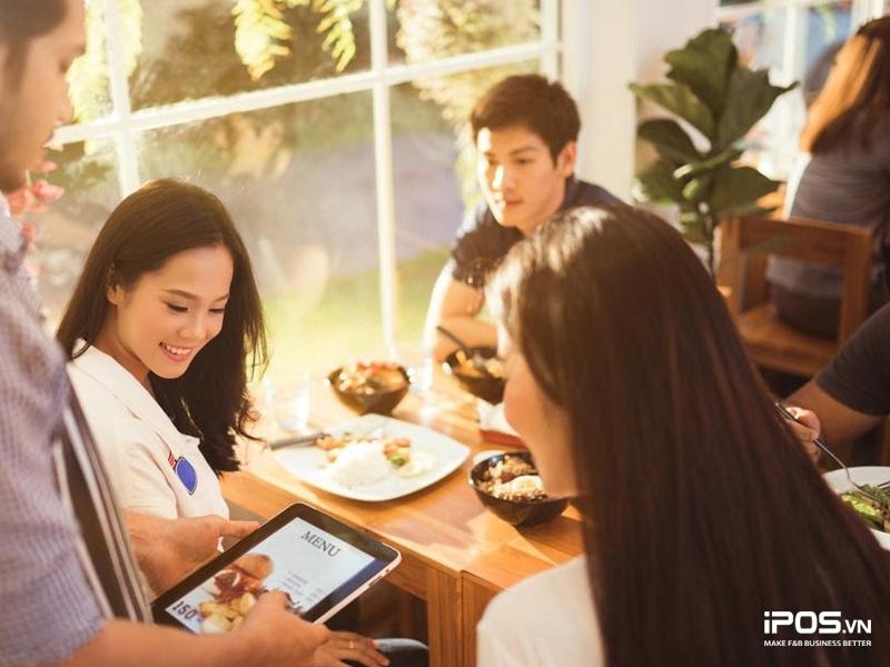 phần mềm quản lý nhà hàng giúp tăng trải nghiệm khách hàng