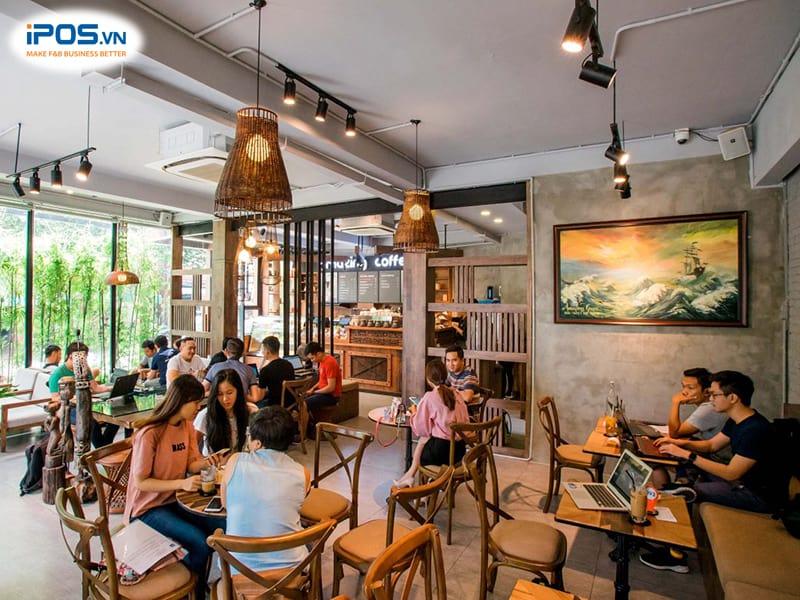 quản lý khách hàng quán cafe