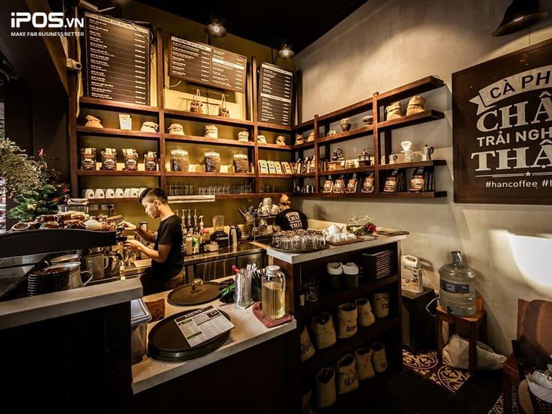 phần mềm quản lý kho nguyên vật liệu quán cafe