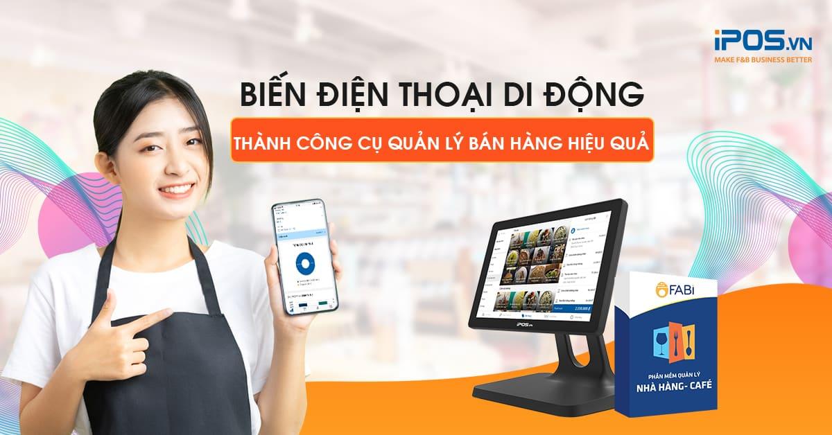 phần mềm quản lý bán hàng trên điện thoại