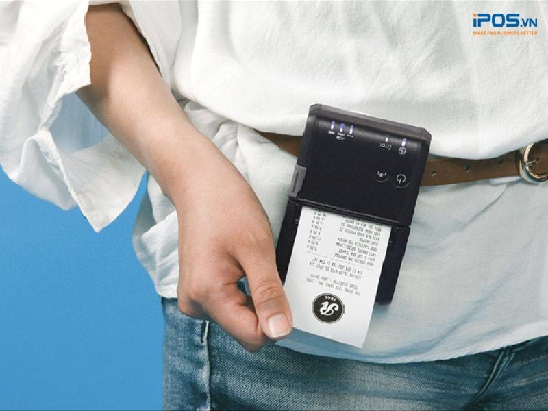 máy in hóa đơn cầm tay tiện lợi