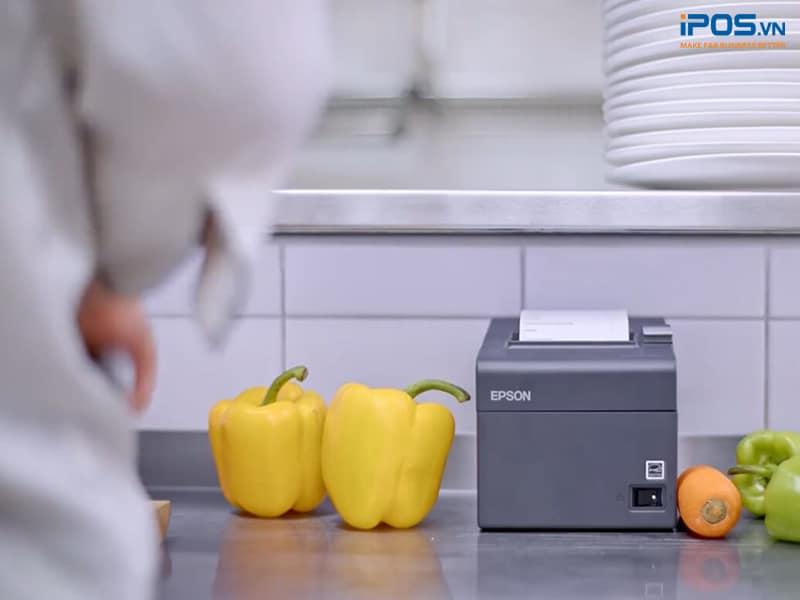 máy in hóa đơn tại bếp