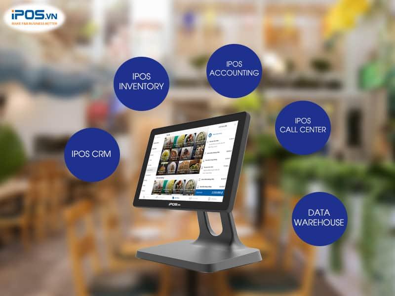 kết nối nhiều ứng dụng trên phần mềm tính tiền nhà hàng