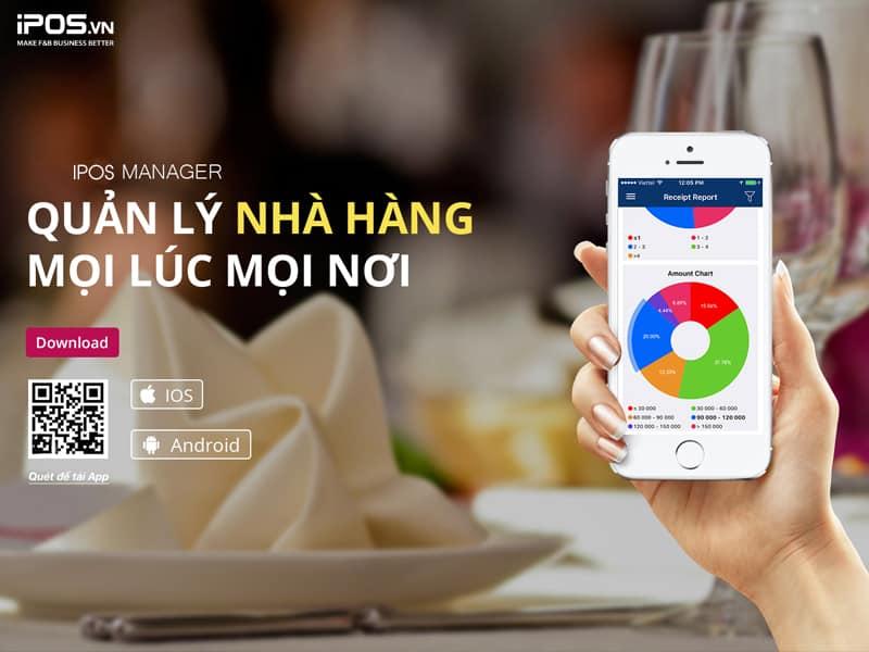 quản lý từ xa bằng phần mềm tính tiền nhà hàng