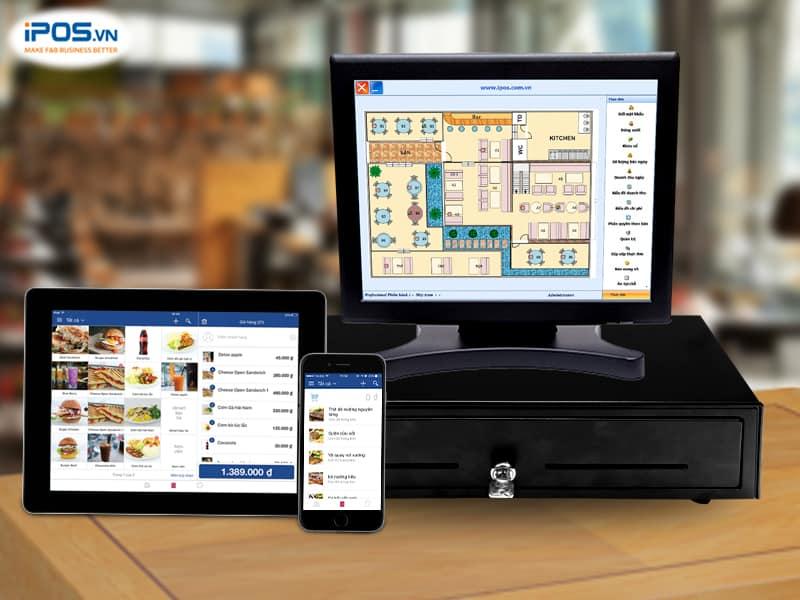 phần mềm tính tiền nhà hàng sử dụng trên nhiều thiết bị