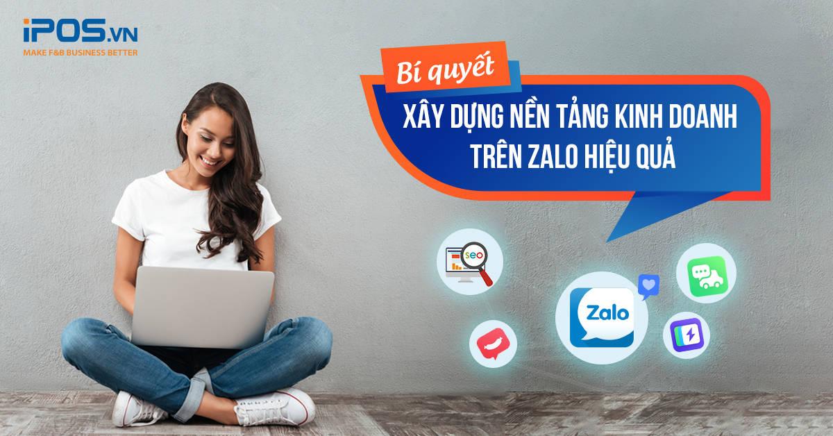 nền tảng kinh doanh trên Zalo