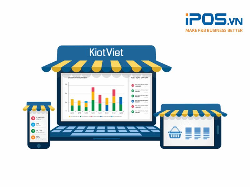 Kiotviet giúp tính tiền ngay tại bàn cùng điều chỉnh hóa đơn linh hoạt