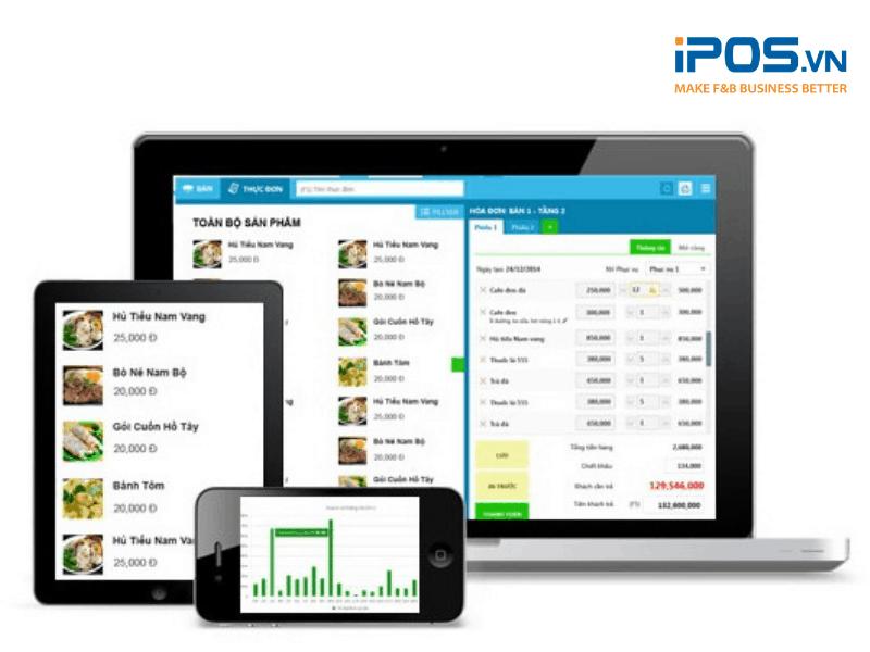 Phần mềm KiotViet có phiên bản dành riêng cho ngành F&B