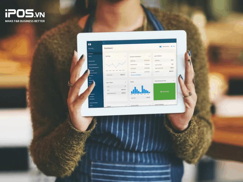 Bạn có thể theo dõi các chỉ số kinh doanh thông qua phần mềm quản lý nhà hàng