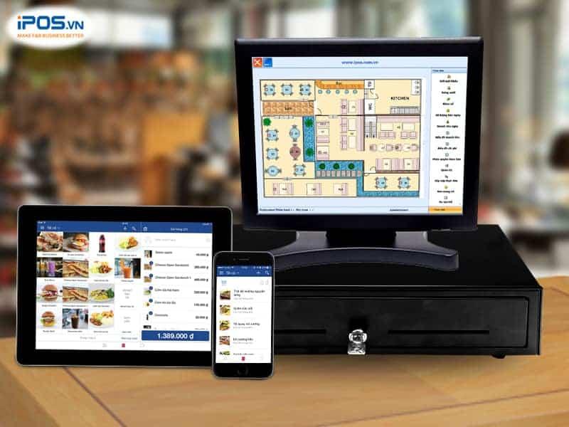 Hệ thống POS F&B sở hữu nhiều tính năng đặc thù cho ngành nhà hàng/cafe