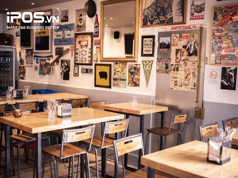 Nhà hàng, quán ăn nhỏ cần đảm bảo sự sạch sẽ, ngăn nắp