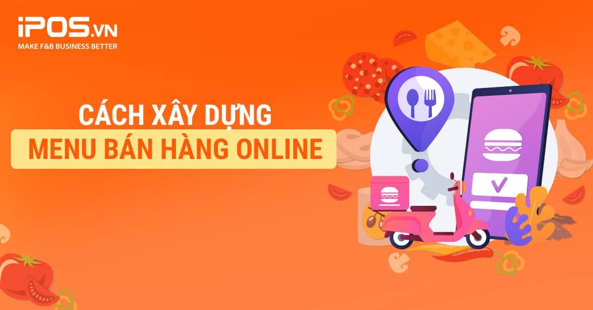 cach xay dung menu online