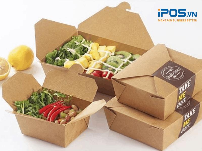 Nên lựa chọn món ăn dễ đóng gói và vận chuyển khi bán online