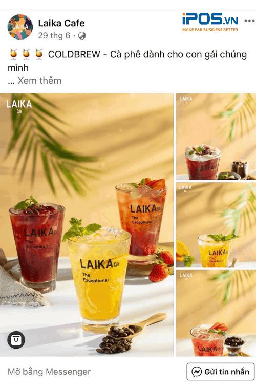 Hình ảnh những cốc nước mát lạnh đầy màu sắc sẽ gây ấn tượng với người đọc