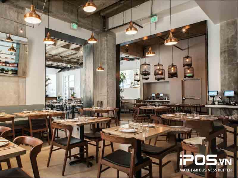 Sắp xếp và ước lượng cơ cấu bàn ghế hiệu quả sẽ giúp bạn tối ưu chỗ ngồi trong nhà hàng