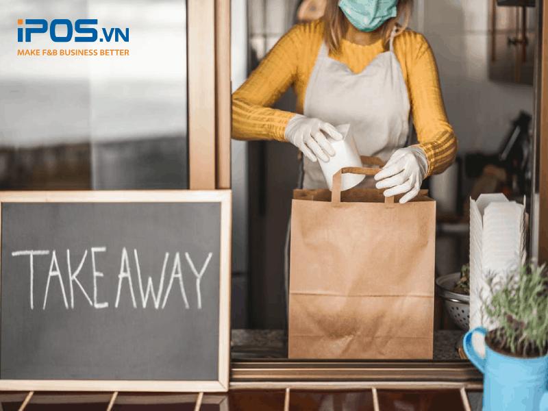 Bao bì đóng gói đơn giản, tiện lợi cho vận chuyển đang được khách hàng đánh giá cao với hình thức take away