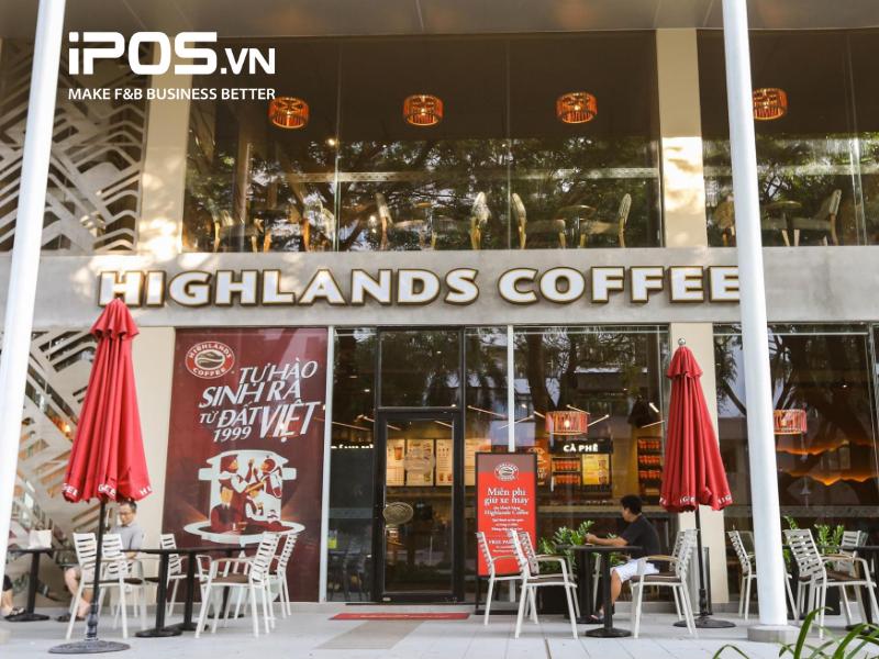 Highlands Coffee sở hữu nhiều vị trí đẹp tại các tòa nhà văn phòng