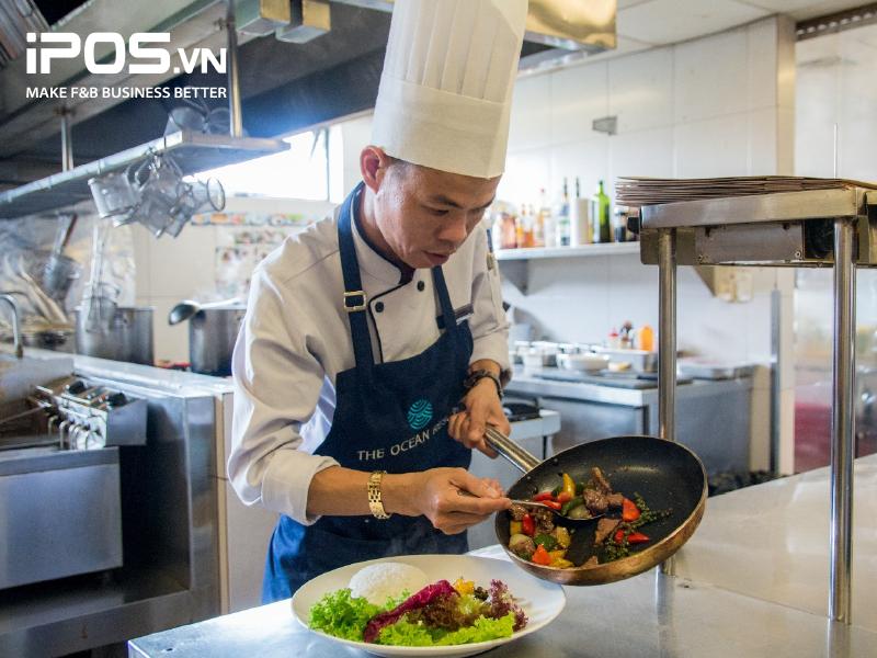 Khả năng nấu nướng đóng vai trò quyết định để đánh giá năng lực của bếp trưởng