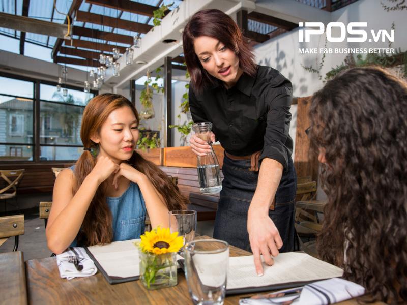 Nhân viên có thể nắm bắt tâm lý khách hàng và đưa ra gợi ý món ăn để Cross-selling