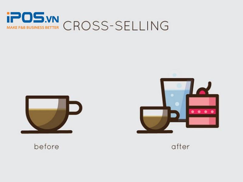 Cross-selling trong kinh doanh nhà hàng là kỹ thuật bán hàng để khiến khách hàng mua nhiều sản phẩm hơn