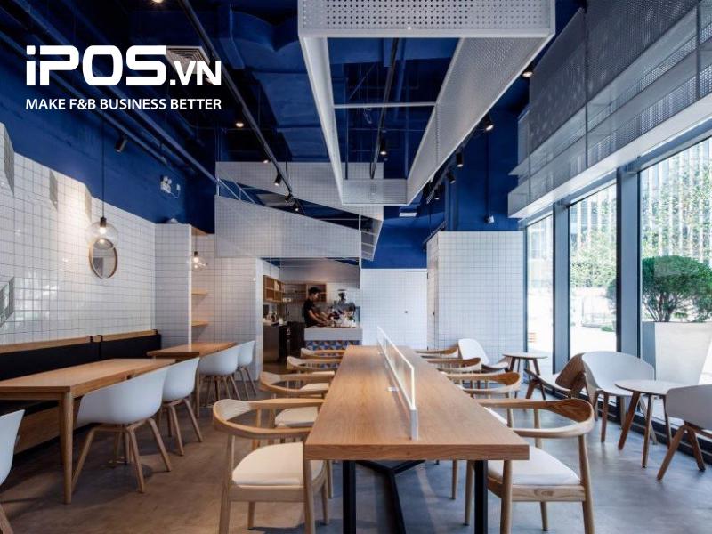 Quán cafe nên sử dụng nội thất làm bằng chất liệu gỗ để hút âm thanh